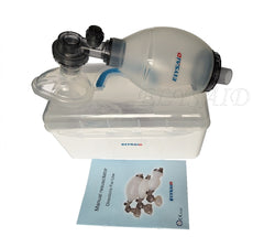 Silicone Resuscitator with Oxygen Tubing