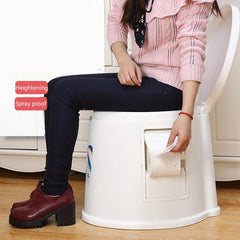 Commode Chair Non-slip Potty Chair