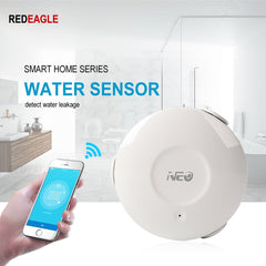Electric WiFi Water Sensor Flood Leak Detector