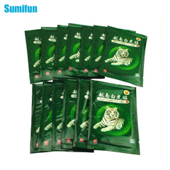 16Pcs Vietnam White Tiger Balm Pain Herbal Medical Plaster