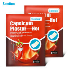 Sumifun 40Pcs Hot Pain Relieving Patch