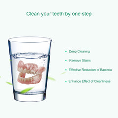 Teeth Care Denture Mate Cleansing Tooth Cleaning Tablet