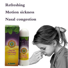 Thailand Herbal Nasal Inhaler Stick Mint