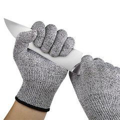1 Pair Cut Resistant Gloves Protective Gloves
