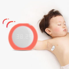 Intelligent Baby Fever Monitor with Wireless Alerts Wearable Smart Thermometer