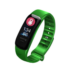 0.96inch IPS Color Screen IP67 Waterproof Smart Watch Heart Rate Blood Oxygen Monitor