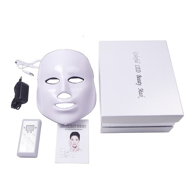 LED Facial Mask Photon Therapy