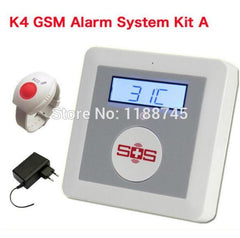 gsm wireless SOS panic Main Panel emergency calling with free power adaptor and SOS button