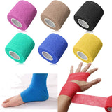 Self-adhesive Bandages Elastic Wrap First Aid Sports Body Gauze Vet Medical Tape