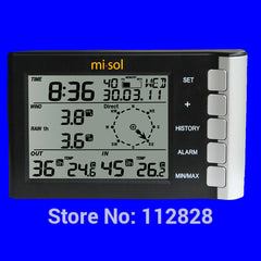 Weather station wind speed wind direction temperature humidity rain