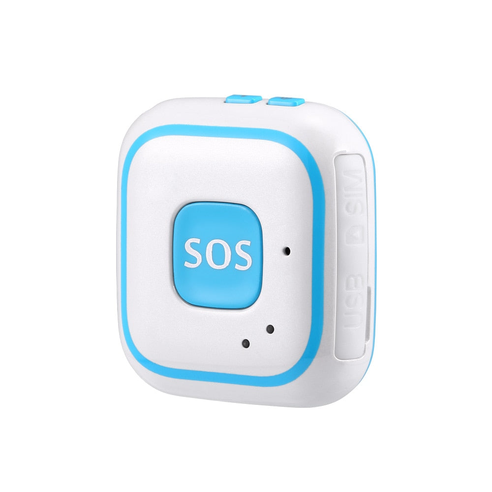 SOS Button emergency alarm V28 Fall alarm Geo-fence Real-time tracking two way talking