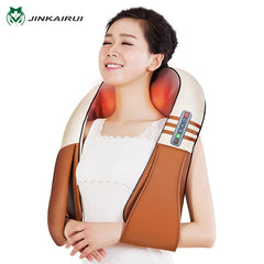 Electrical Shiatsu Back Neck Shoulder Body Massager Infrared