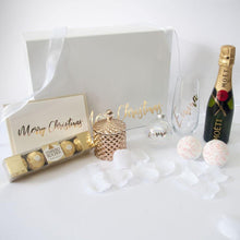 Load image into Gallery viewer, DIY - Large White Personalised Gift Box - 30cm x 22cm x 10cm
