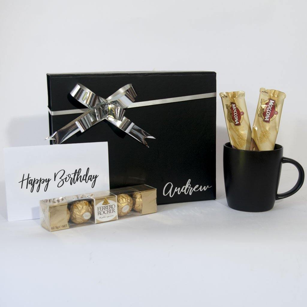Personalised Gift Box for Men who love Coffee