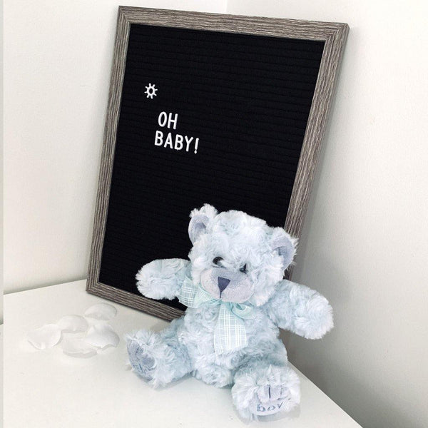 Georgie Teddy Bear Blue