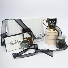 "Load image into Gallery viewer, Personalised Designer ""Boss Lady"" Corporate Style Gift Hamper"