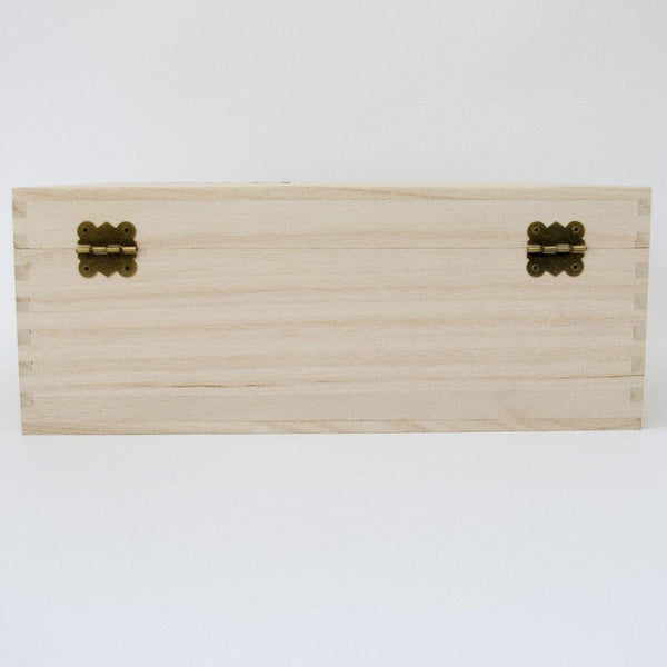 Newborn Baby Timber Keepsake Box - (Empty)