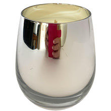 Load image into Gallery viewer, Silver Metallic Soy Candle