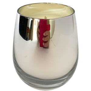 Silver Metallic Soy Candle