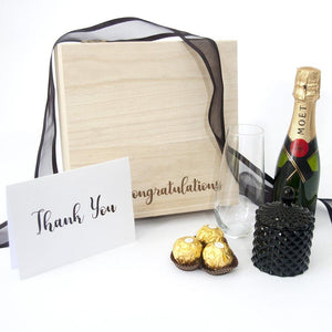 corporate congratulations gift box