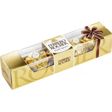 Load image into Gallery viewer, 5 pack of ferrero rocher chocolate
