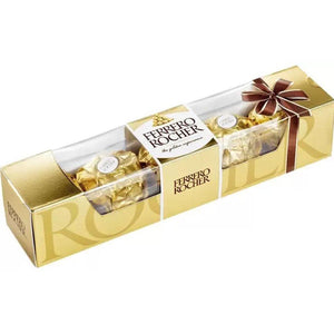 5 pack of ferrero rocher chocolate
