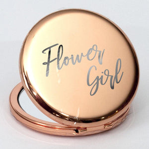 Rose Gold Compact mirror