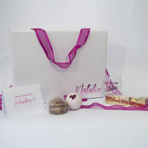 "Personalised ""Will You Be My Godmother? "" Gift Box - PrettyLittleGiftBox"