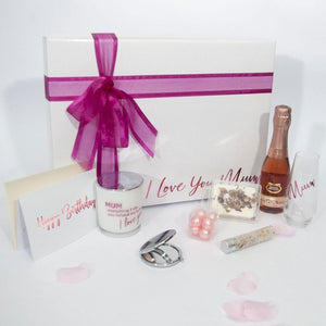 "Personalised Birthday ""Pretty in Pink"" Gift Hamper for Women"