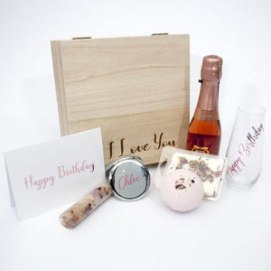 """Gift From the Heart"" Happy Birthday Personalised Luxury Hamper"