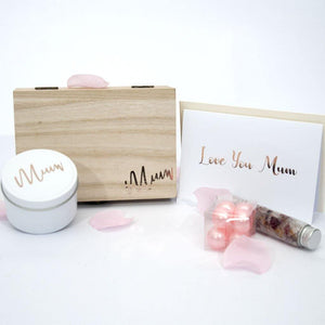"""Bath Pamper Hamper"" - I love you Mum Personalised Gift"