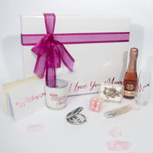 "Load image into Gallery viewer, Spoil Mum Personalised Mothers Day ""Pretty in Pink"" Gift Hamper"