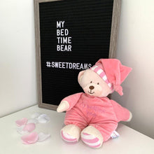 Load image into Gallery viewer, Goodnight Bear Pink