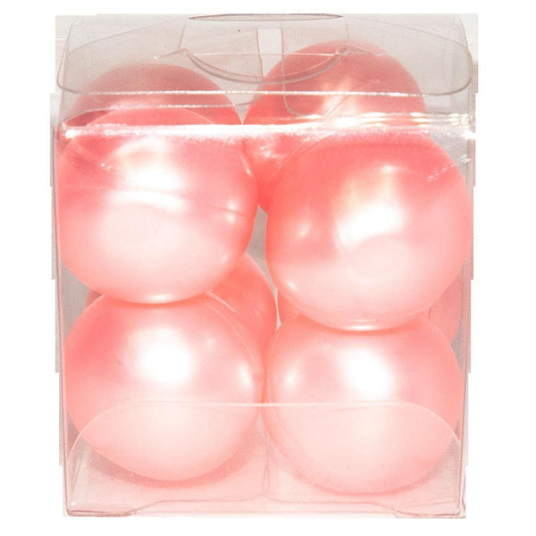 4 pink bath petals in box.