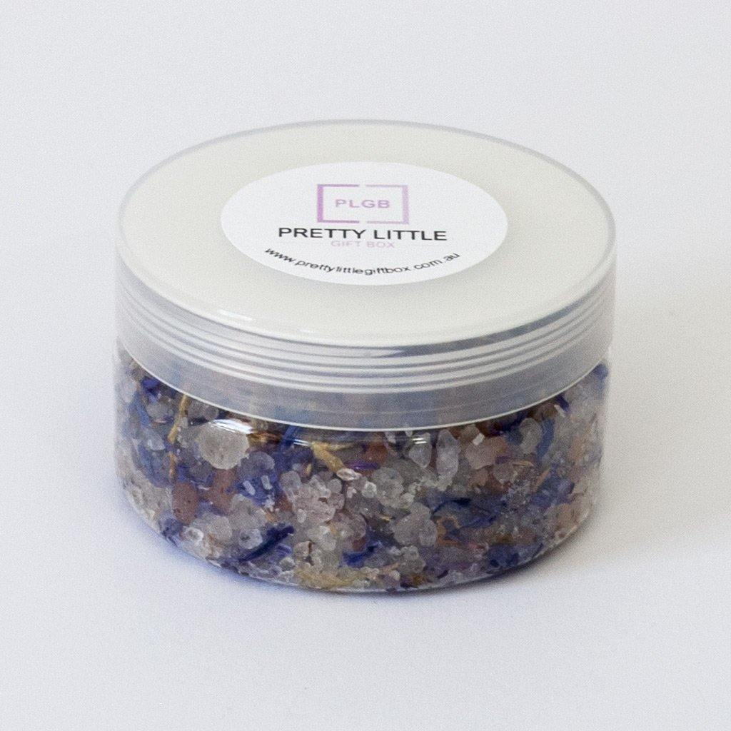 Relaxing Cornflower blend Bath salts in a tube