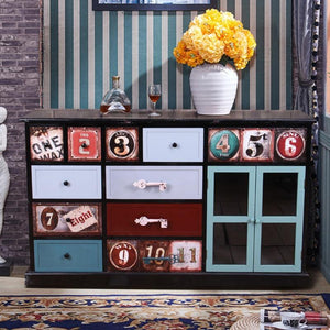 American Retro Style Chest Of Drawers - The Vintage Look Henely