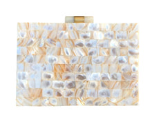 Load image into Gallery viewer, Beautiful Mother of Pearl Clutch Bag - THE VINTAGE LOOK Henley-on-Thames