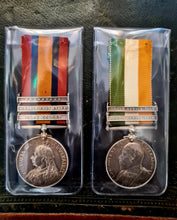 Load image into Gallery viewer, Boer War Suffolk Regiment Pair of Medals - The Vintage Look Henely