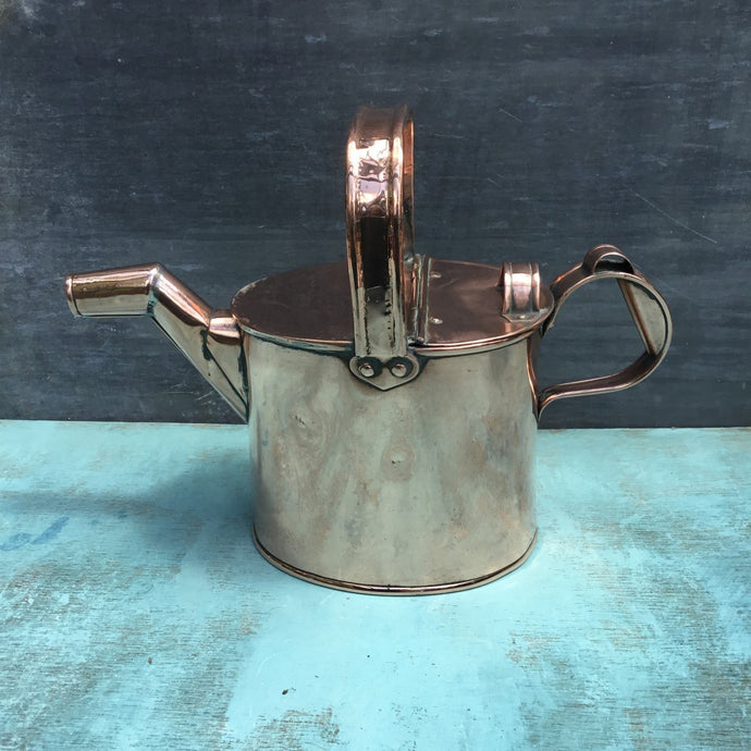 Early 20th Century Copper Watering Can - THE VINTAGE LOOK Henley-on-Thames