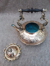 Load image into Gallery viewer, French Embossed Brass Kettle (originally plated) circa 1900-20. - The Vintage Look Henely