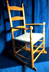 Pine Childs Shaker Rocking Chair - THE VINTAGE LOOK Henley-on-Thames