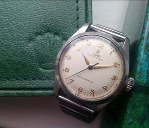 Rare Vintage Rolex Tudor Oyster Royal Original Manual Wind Men's Watch c1950s - THE VINTAGE LOOK Henley-on-Thames