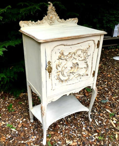 Rococo Style Cabinet 55cm x 58cm - THE VINTAGE LOOK Henley-on-Thames