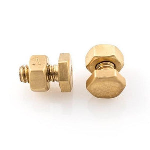 Solid 18ct Gold Nut and Bolt Cufflinks - THE VINTAGE LOOK Henley-on-Thames