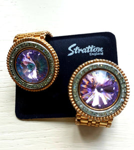 Stratton 1970s wrap around cufflinks - THE VINTAGE LOOK Henley-on-Thames