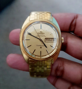 Vintage 1962 18CT Gold Omega Constellation Watch - THE VINTAGE LOOK Henley-on-Thames