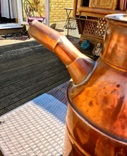 Load image into Gallery viewer, Vintage Copper Churn 61cm high - THE VINTAGE LOOK Henley-on-Thames