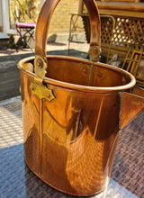 Load image into Gallery viewer, Vintage Copper Jug 33cm high - THE VINTAGE LOOK Henley-on-Thames