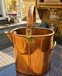 Vintage Copper Jug 33cm high - THE VINTAGE LOOK Henley-on-Thames