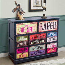 Load image into Gallery viewer, Vintage Style Wooden Bedside Cabinet - The Vintage Look Henely